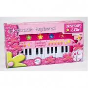 Tastiera rosa con microfono Bontempi