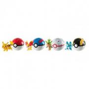 Pokemon throw'n pop poke ball assortito