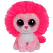 Leone Fluffy rosa 15 cm.