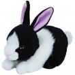 Babie coniglietto bianco e nero Ty cm. 15