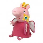 Peppa Pig peluche Peppa Pig principessa cm. 40