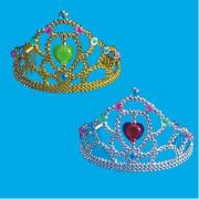 Corona oro/argento colori assortiti in busta