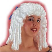 Parrucca dama bianca