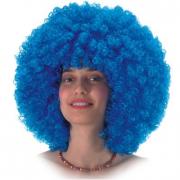 Parrucca Ricciolona blu