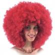 Parrucca Ricciolona rossa