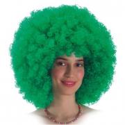 Parrucca Ricciolona verde