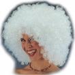 Parrucca Ricciolona bianca