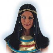 Parrucca Cleopatra in valigetta