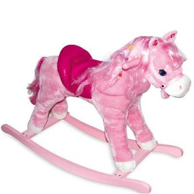 Cavallo A Dondolo Peg Perego.Cavallo A Dondolo Rosa Giochi Giocattoli