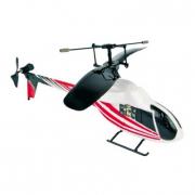 Elicottero a raggi infrarossi rosso