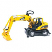Bruder 02445 - Ruspa Caterpillar Cat su ruote