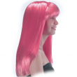 Parrucca Cosmic girl rosa in valigetta