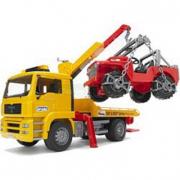 Bruder 02750 - Camion Man con Jeep