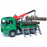 Bruder 02769 - Camion trasporto tronchi