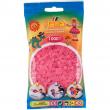 Hama 1000 perle rosa trasparente