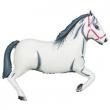 Pallone elio foil cavallo bianco cm. 109