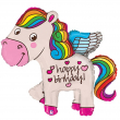 Palloncino pony happy birthday 114cm