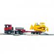 Bruder 03555 - Camion Scania con Bulldozer Caterpillar