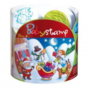 Baby stamp- E' natale