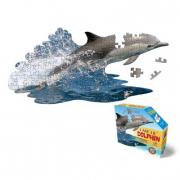 Delfino puzzle 100 pezzi