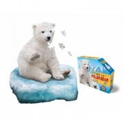 Orso polare puzzle 100 pezzi