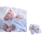 Bebe' 43 cm tutina azzurra Newborn berenguer