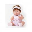 Bambola Ani mora vestito rosa 33 cm berenguer
