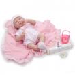 Bambola la new born rosa 38 cm berenguer