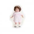 Bambola Carla mora vestito rosa 36 cm
