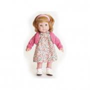 Bambola Carla bionda vestito rosa 36 cm