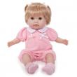 Bambola nonis bionda vestito rosa 38 cm