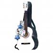Chitarra in legno bianca 92cm