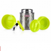 Nuby porta vivande thermos in accaio inox 18/10 450ml