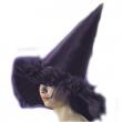 Cappello nero c/boa h.cm.47 ca.