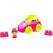 Mega bloks car building set auto rosa
