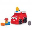 Mega bloks car building set pompieri