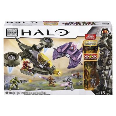 Mega Bloks 97123 Halo Unsc Hornet Versus Covenant Vampire