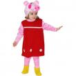 Costume piccola pig 1/2 anni