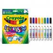 8 colori fibra lavabilissimi punta maxi