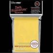 Deck protector buste 60 pezzi giallo