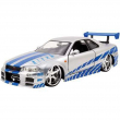 Nissan GT-R 2002 scala 1/24 fast and furios