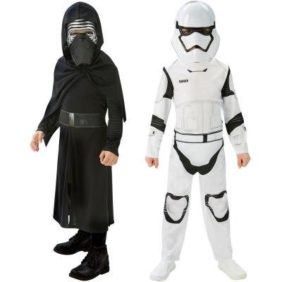 Star Wars vestito bipack tg.M per bambino: Kylo Ren e Storm