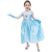 Frozen vestito in taglia 5/6 anni