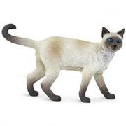 Gatto siamese animale statuina