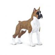 Cane boxer statuina