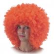 Parrucca Ricciolona arancione