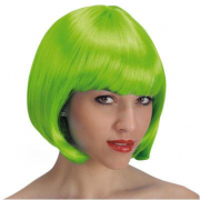"Parrucca ""Pin up"" verde in busta"