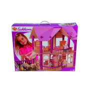 Villa in legno per bambole