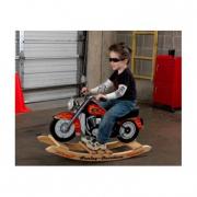 Harley Davidson a dondolo cavalcabile in legno