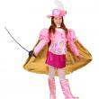 Costume Principessa Moschettiere 5/6 anni